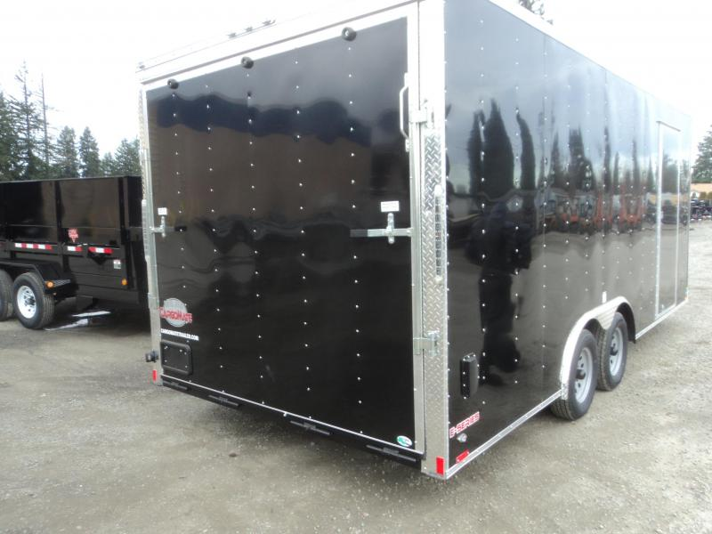 2020 Cargo Mate E-SERIES 8.5X20 7K w/Rear Ramp/Escape Door/Extended Tongue/Extra Height/D-Rings