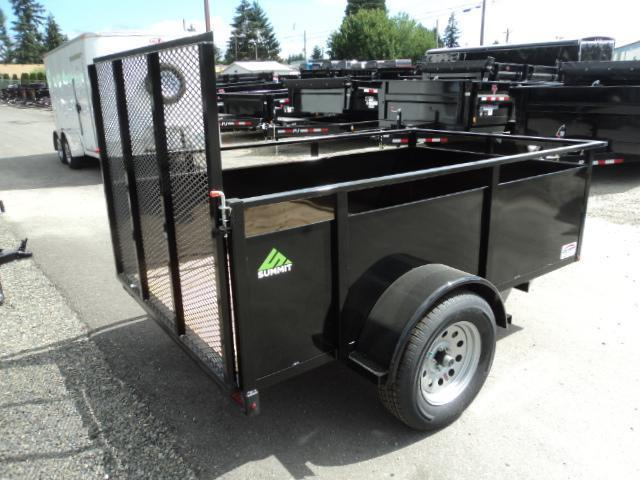 2019 Summit Alpine 5X10 Single Axle Utility Trailer