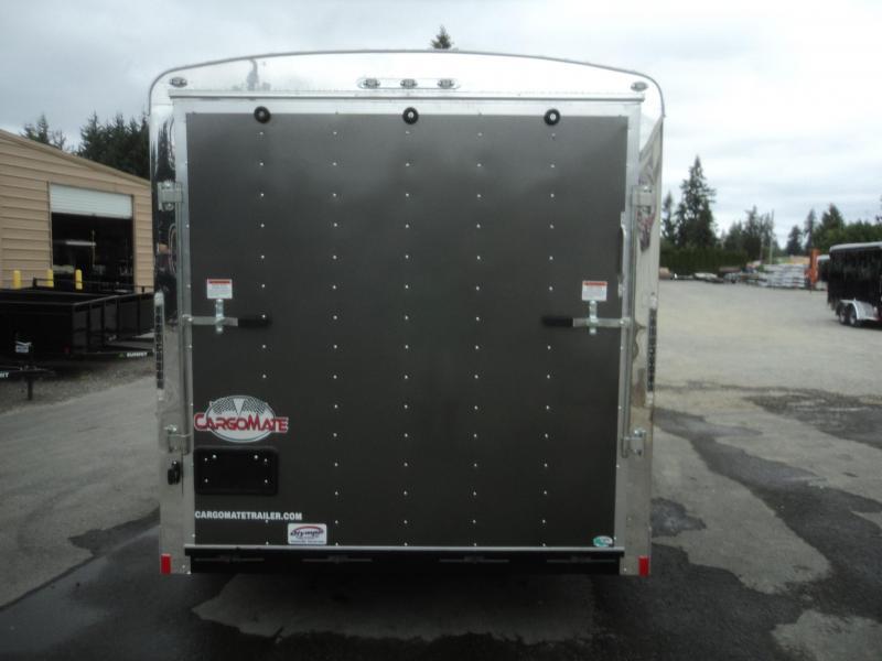 2019 Cargo Mate Blazer 7X14 7K w/Rear Ramp Door And Appearance Package