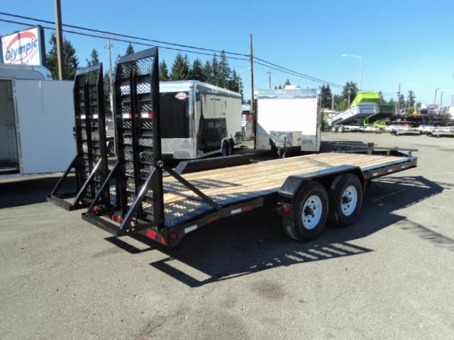 "2018 PJ Trailers H4 7X20 16K 8"" Pro Beam Equipment Trailer"