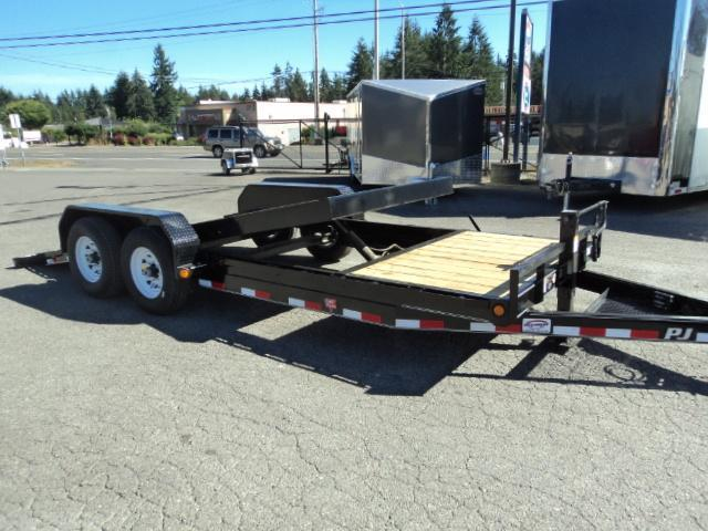"2020 PJ Trailers 7x20 14K  6"" Channel Equipment Tilt Trailer"