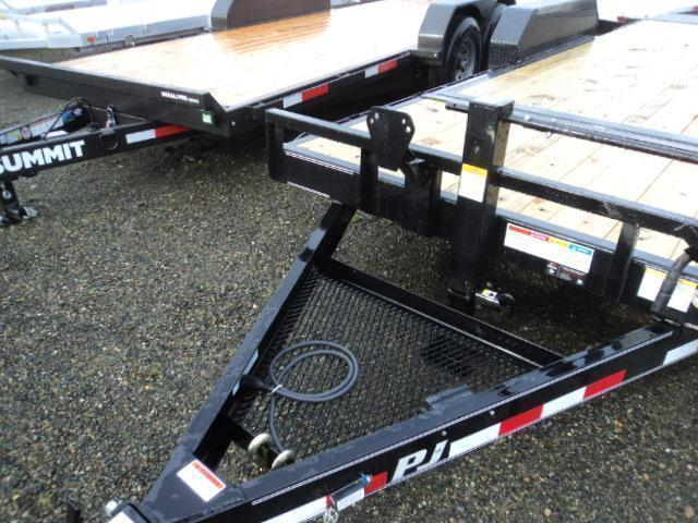 2019 PJ Trailers 7x20 14K Tilt With Surge Brakes