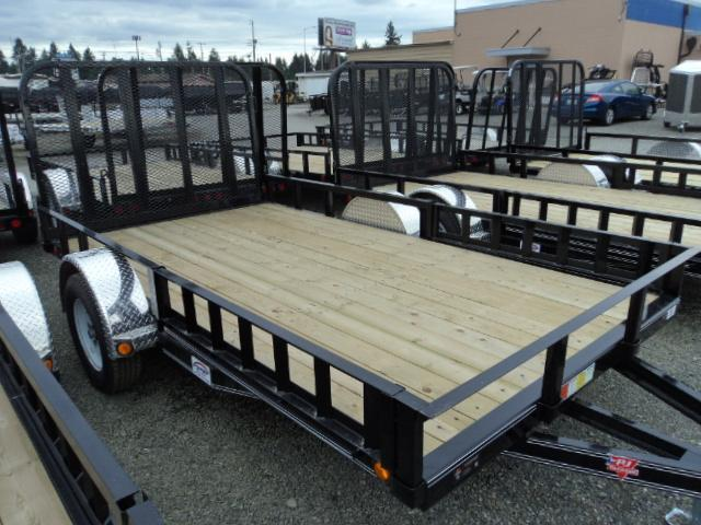 2018 PJ Trailers 6.5X14 Utility w/Side Mount ATV Ramps