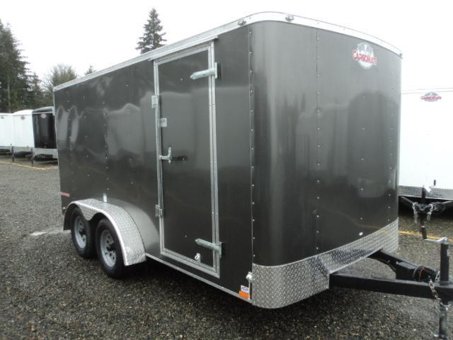 2019 Cargo Mate Challenger 7X14 7k w/Rear Ramp Door