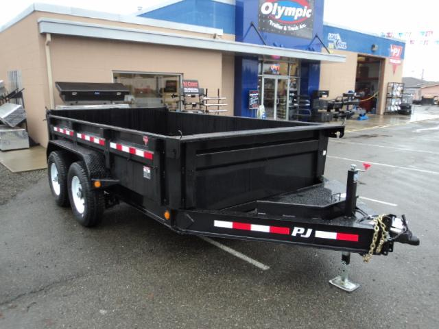 2019 PJ Trailers 7x14 14K Low Pro Dump Trailer