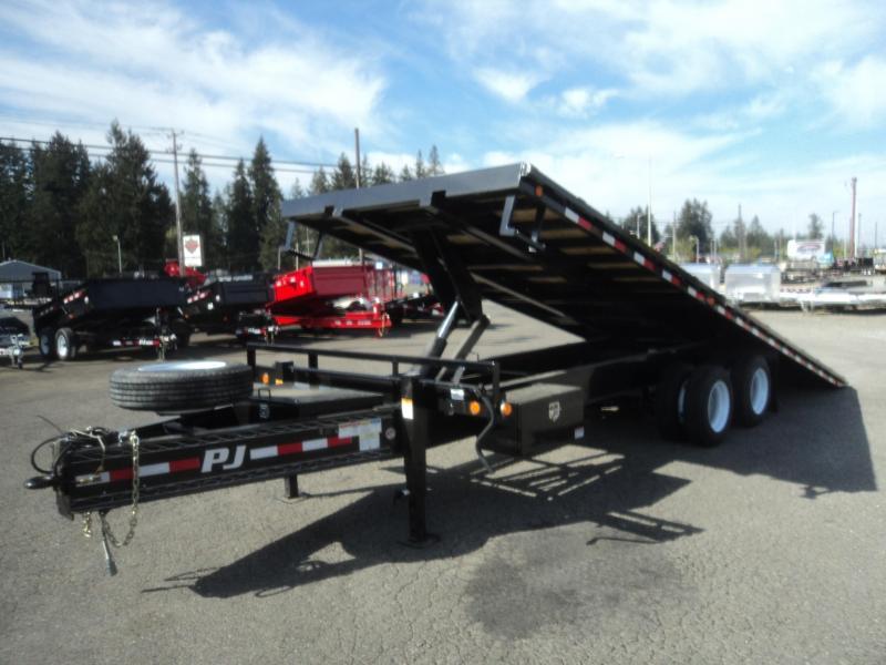 2018 PJ 30k Tandem Dual Tilt 24ft W/ Air Brakes