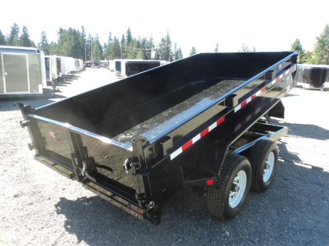 2018 PJ Trailers 6X12 10K Tandem Axle Dump Trailer