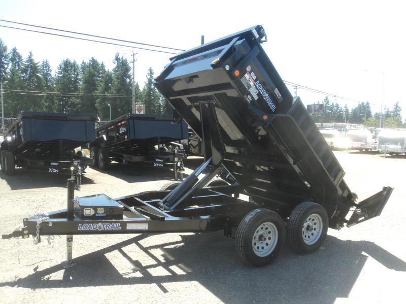 2020 Load Trail 6x10 7K Dump w/Tarp kit/Rapid Charger/Solar Charger/ and Ramps