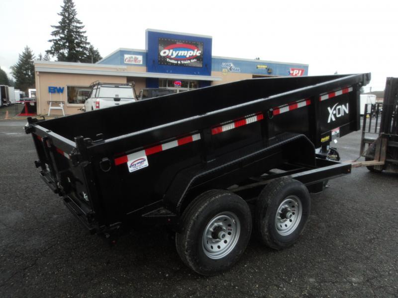 2018 X-On 7x12 14K Dump Trailer w/Tarp Kit/Ramps++