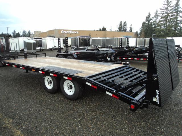 2020 PJ Trailer 8.5X22 14K Deckover w/Monster Ramps