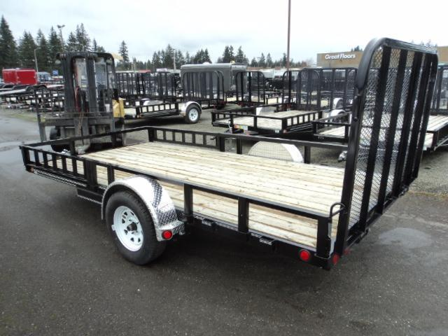 2020 PJ Trailers 7X14 with Side Mount ATV Ramps Utility Trailer