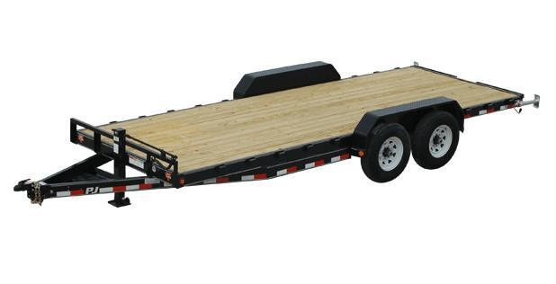2020 PJ CC 7x20 14K Equipment Trailer