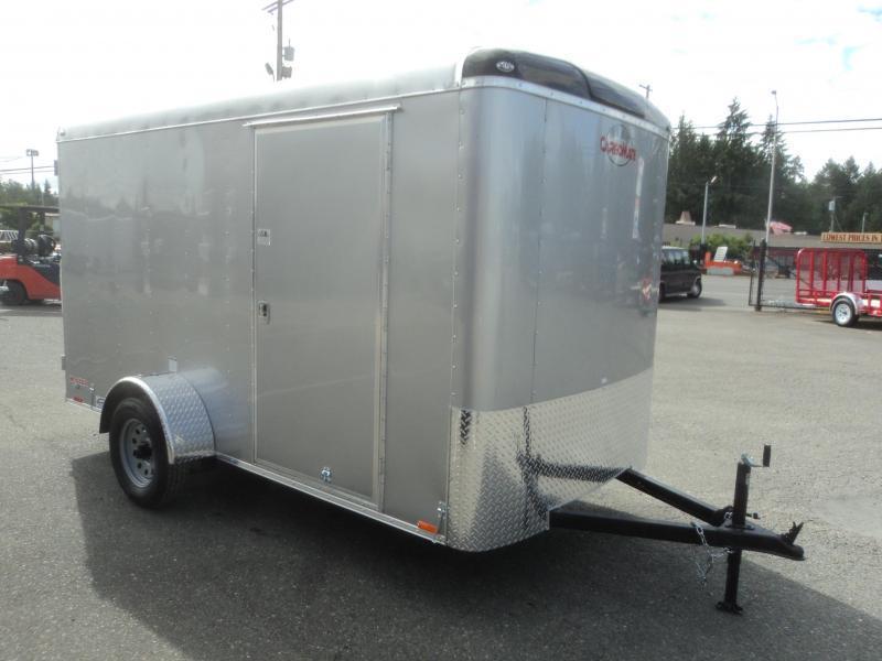 2019 Cargo Mate Blazer 6X12 w/Rear Ramp Door and RV Side Door