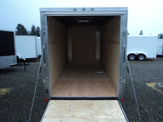 """2020 Cargo Mate Challenger 6x12 w/6"""" Extra Height & Rear Ramp Door"""