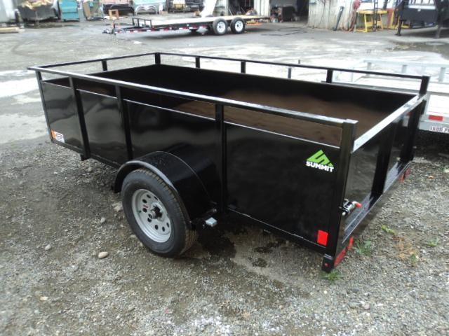 2019 Summit Alpine 5X8 Single Axle w/Swing Gate Utility Trailer