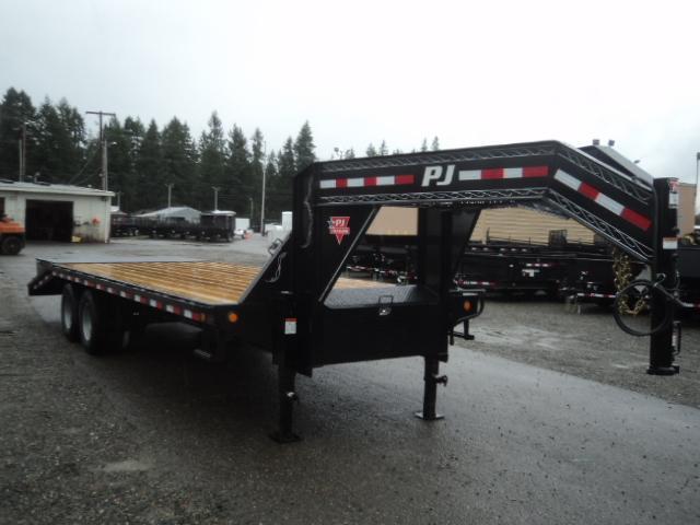 2018 PJ GN 8.5x20 25K Classic Flatdeck with Duals/Power Tail