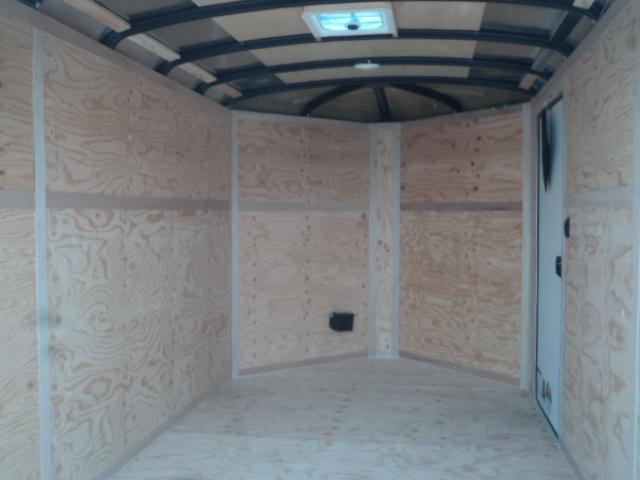 2020 Cargo Mate Blazer 7X12 7K w/3ft Wedge Enclosed Cargo Trailer