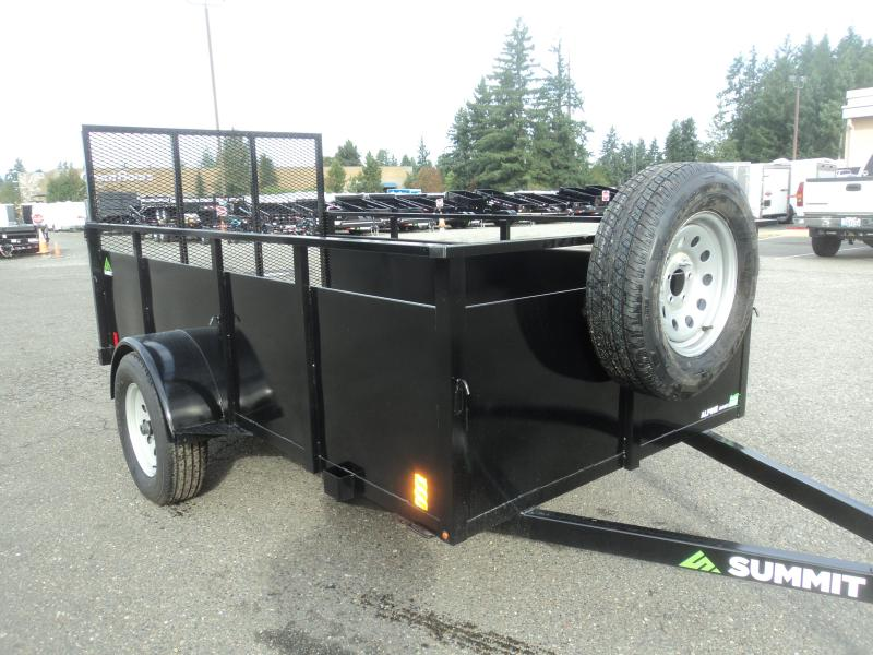 2020 Summit Alpine 5X10 Utility with Spare Tire and Mount
