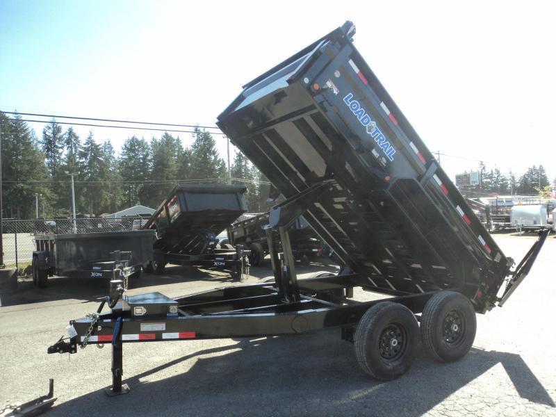 2020 Load Trail 7X12 14K w/Tarp Kit/Rapid Charger/Max Step