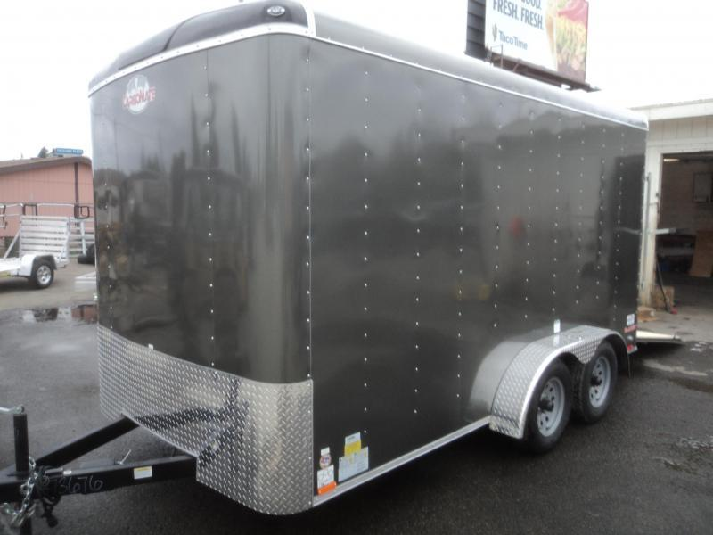 "2018 Cargo Mate Blazer 7x14 7K w/6"" Extra Height/Rear Ramp Door"