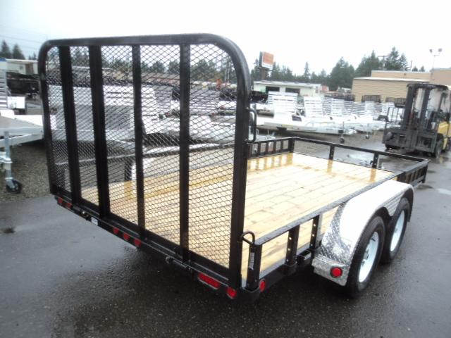 2019 PJ Trailers 7X14 7K Utility with Fold up Gate