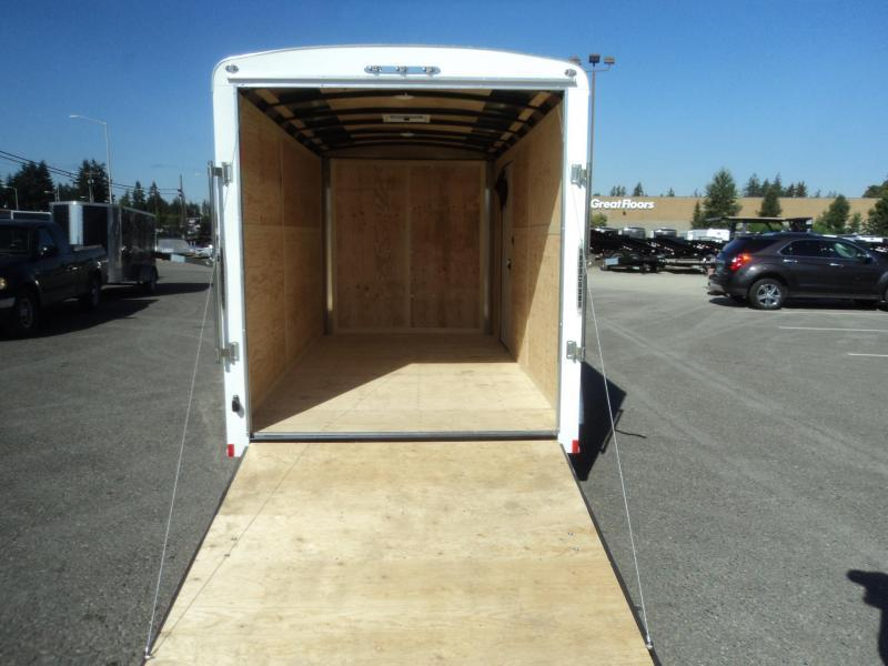2020 Cargo Mate Blazer 6X12 7K w/Rear Ramp Door