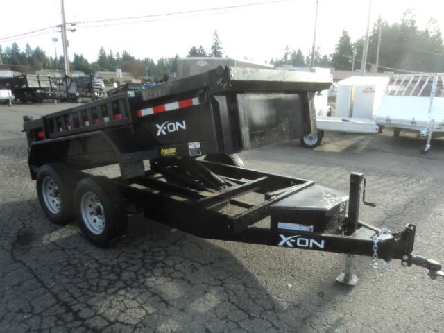2019 X-On 5X10 10K Dump Trailer w/Tarp Kit/Ramps++