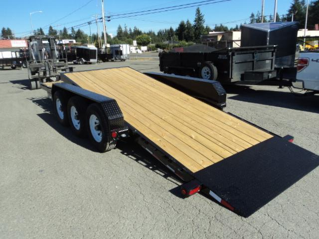 2020 PJ Trailers 7X22 21K Channel Equipment Tilt Trailer