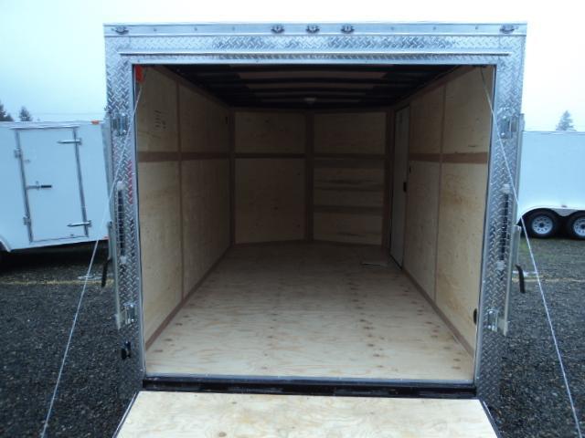 2020 Cargo Mate Trailers 7X14 7k Wedge w/Extra Height/Rear Ramp Door