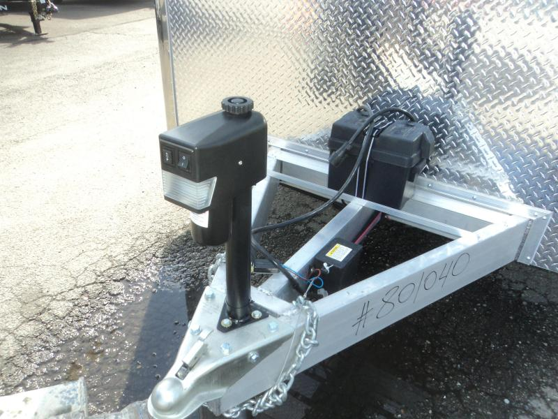 2019 Cargo Mate Aluminum 8.5x28 12K Race Trailer