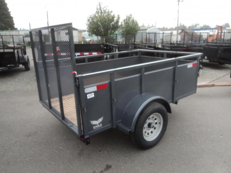 2018 Eagle Falcon 5x8 Utility Trailer