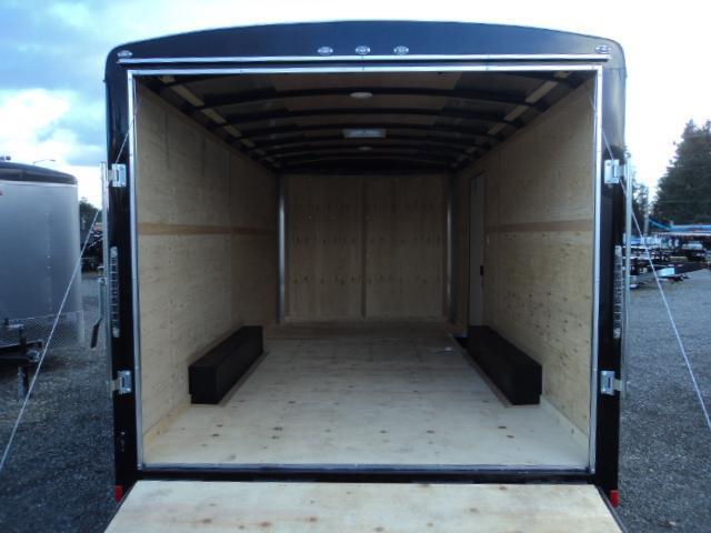 "2020 Cargo Mate Blazer 8.5x16 10K w/6"" Extra Height + Rear Ramp door"