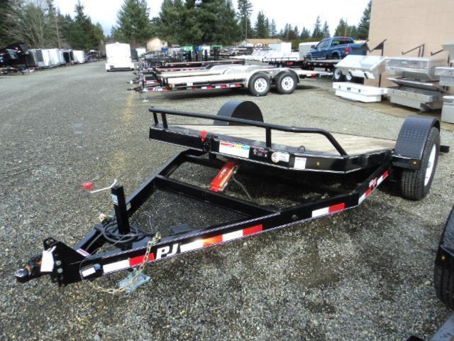 2020 PJ Trailers 13' Single Axle 7K HD Tilt Trailer