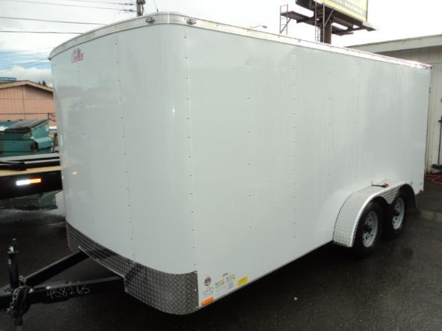 2018 Cargo Mate Challenger 7X14 7K w/Rear Cargo Doors/Vent