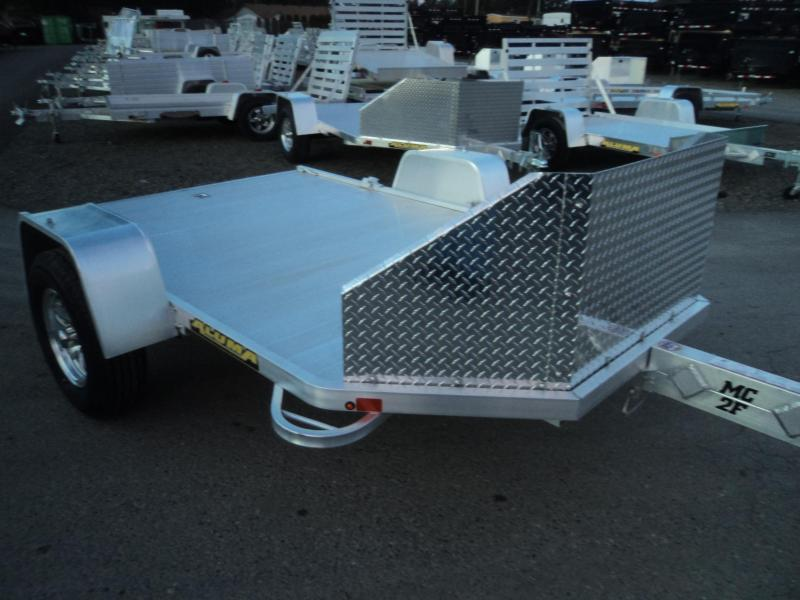 2019 Aluma MC2F Folding Motorcycle Utility Trailer