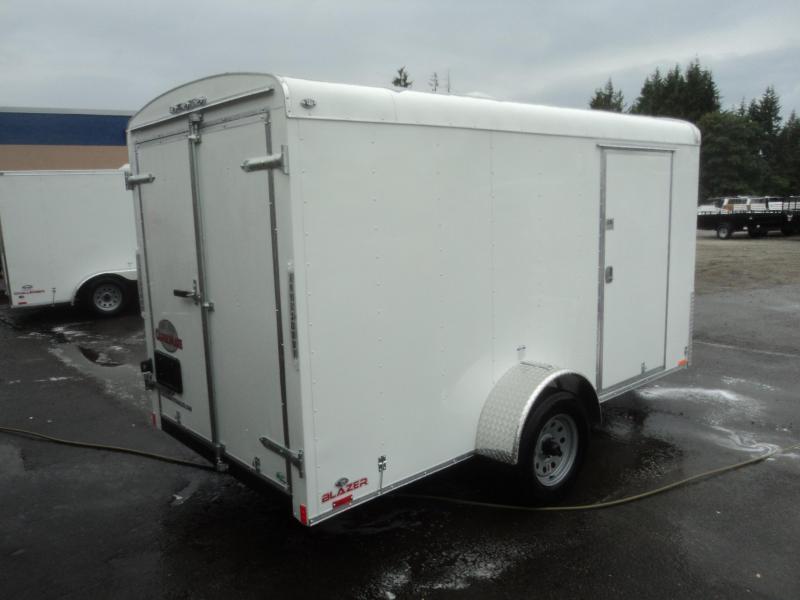 2020 Cargo Mate Blazer 6x14 w/Rear Cargo Door