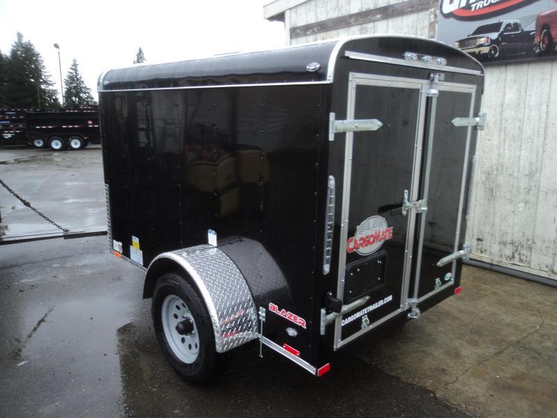 """2020 Cargo Mate Blazer 5x8 with 24"""" Side door"""