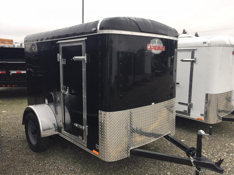 2018 Cargo Mate Blazer 5x8 with /Rear Ramp Enclosed Cargo Trailer