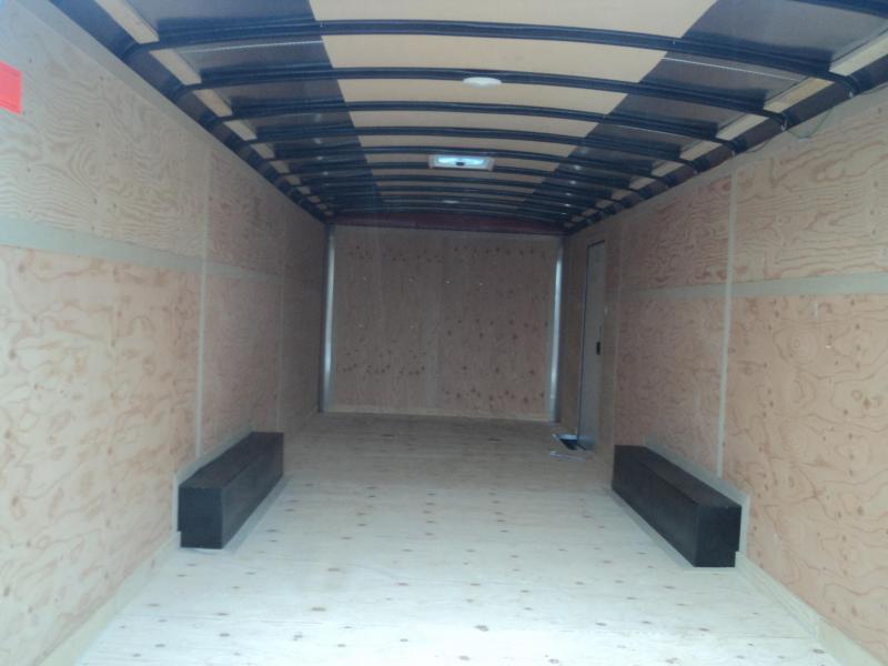 2018 Cargo Mate Blazer 8.5X24 7K w/Rear Ramp Door/D-Rings