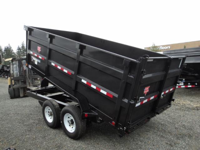 2018 PJ 7x14 14K High Side Dump Trailer