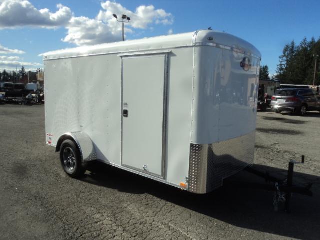 2019 Cargo Mate Blazer 6X12 w/Brakes/Aluminum Wheel Upgrade/ and Rear Ramp Door