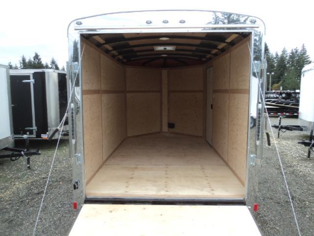 2018 Cargo Mate Blazer 7X12 7K w/3ft Wedge Enclosed Cargo Trailer