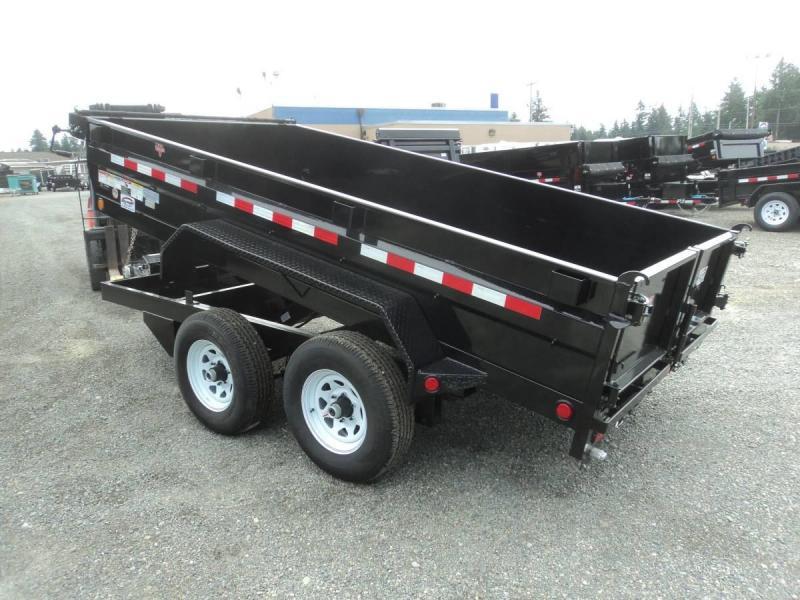 2020 PJ 6x12 10K Dump w/Ramps