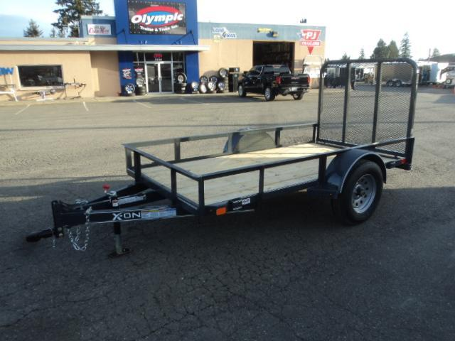 2018 X-On 5X10 Utility Trailer with 4' gate