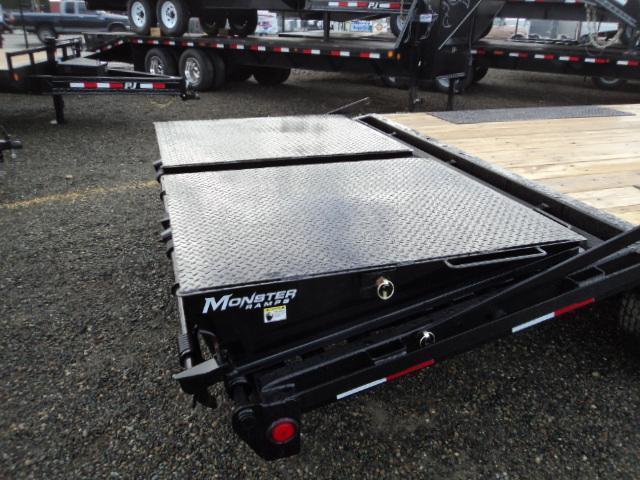 2020 PJ Trailer 8X22 14K Deckover w/Monster Ramps