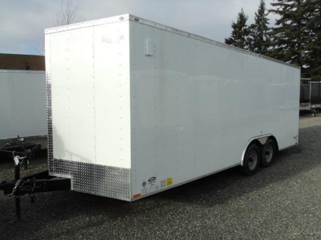 2020 Cargo Mate E-Series  8.5X20 7K w/Ramp Door/D-rings