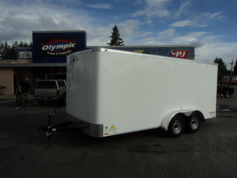 "2020 Cargo Mate Challenger 7X16 7K w/Rear Ramp Door/6"" Extra Height"
