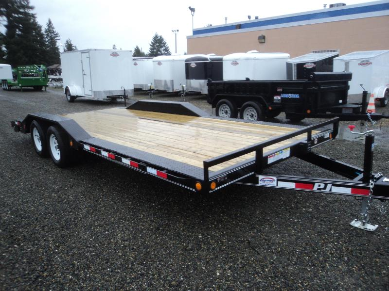 2018 PJ Trailers 8.5x20 7K Channel Buggy Hauler Trailer