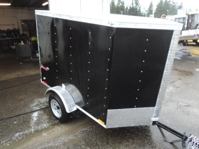 2018 Cargo Mate E-series 4X6 Enclosed Utility Trailer