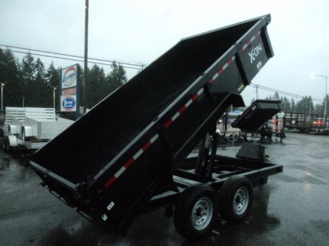 2019 X-On 7x12 14K Dump Trailer w/Tarp Kit/Ramps++